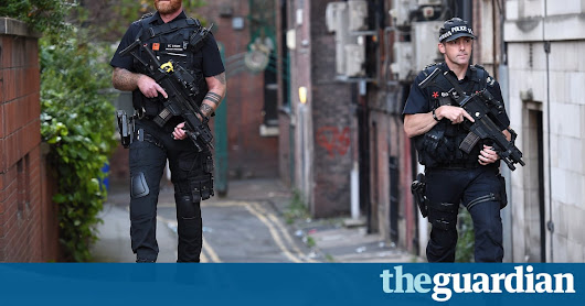 Soldiers on UK streets as threat raised to critical after Manchester bombing | UK news | The Guardian