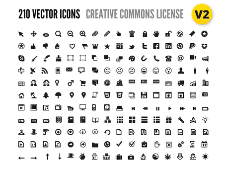 210 Vector Icons for Wireframes + Web Design, Vector Files - Clipart.me
