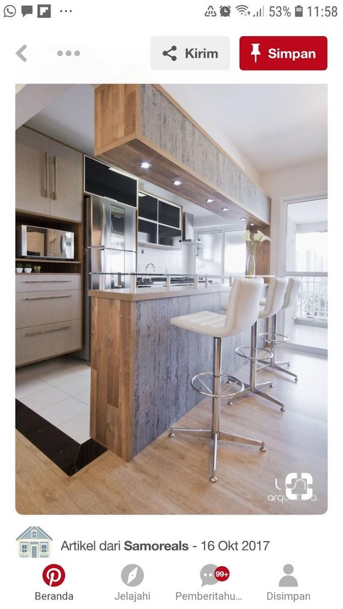 Lebar Meja Dapur Ideal | Ide Rumah Minimalis