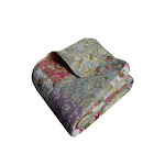 Greenland Home Blooming Prairie Quilted Throw Blanket