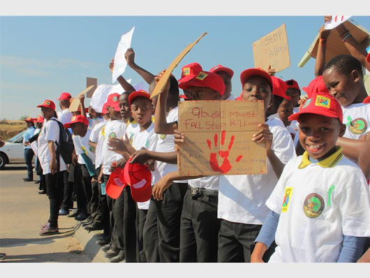 Peace Walk: Children of Diepsloot chant 'enough is enough' | Fourways Review