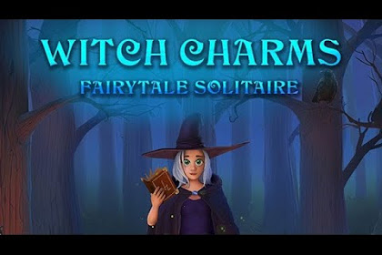 Fairytale Solitaire Witch Charms