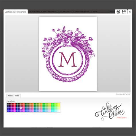 Design Your Own Custom Monogram