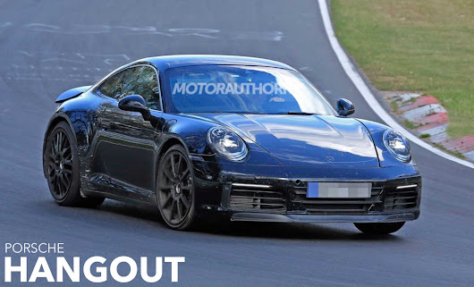 Next-Gen Porsche 911 Exposed
