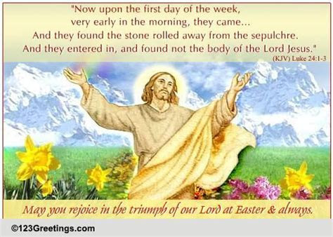 Triumph Of Our Lord! Free Religious eCards, Greeting Cards
