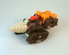 Transformers Nosecone - modo alterno (G1)