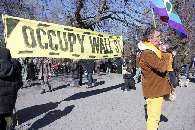 Occupy Wall St., Tompkins Sq. Park