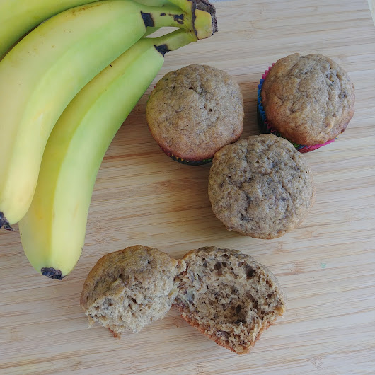 Banana Lovers' Banana Muffins