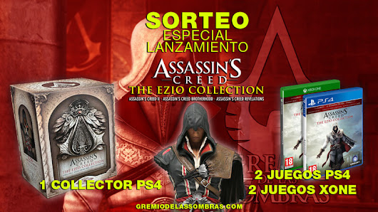 Sorteo especial lanzamiento de Assassin's Creed The Ezio Collection