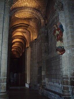 Nave lateral izquierda de la Colegiata de San Isidoro de León