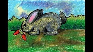 All Clip Of Cara Mewarnai Kelinci Dengan Crayon Bhclipcom