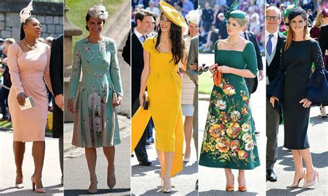 Royal wedding guests: The top 20 best dressed royals and