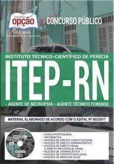 AGENTE DE NECROPSIA e AGENTE TÉCNICO FORENSE