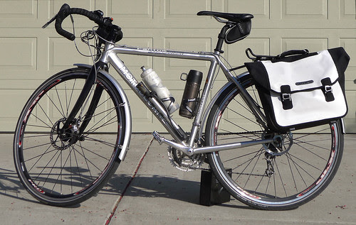 Ortlieb and RackTime rack on Fantom Outlaw commuter