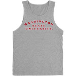 Official NCAA Washington State University Cougars - RYLWST01, G.A.3633, H_GRY, XL Size X-Large Heather Gray
