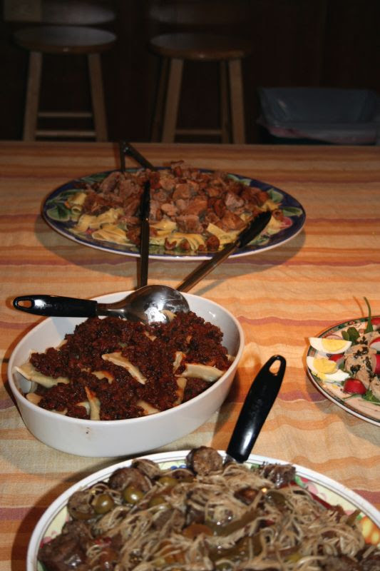 Italian Table - mid-supper