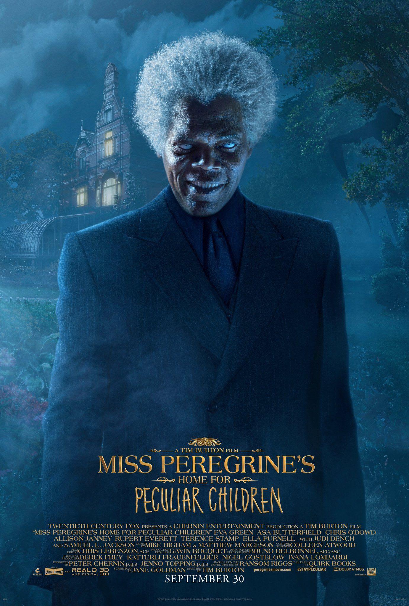 Resultado de imagem para miss peregrine's home peculiar