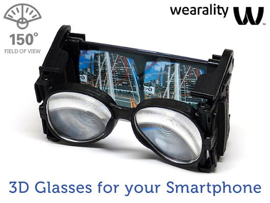 Wearality Sky: Limitless Virtual Reality (VR) by Wearality — Kickstarter