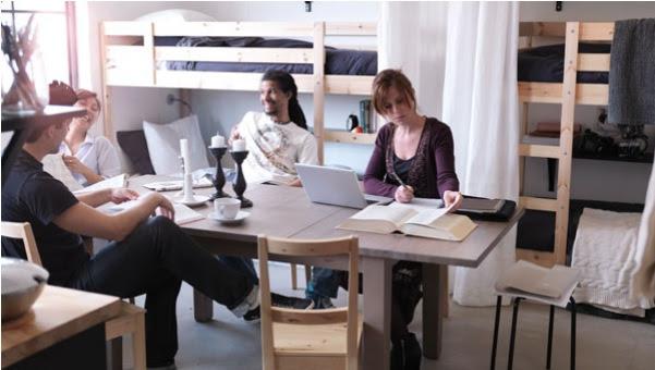 Grand Interior Designs form Small living spaces.   Minimalisti.