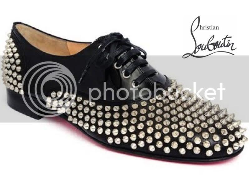 Christian Louboutin Studded Shoes @ StreetStylista.Guy