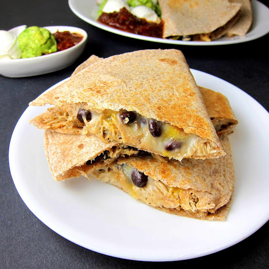 Pulled Pork Black Bean Quesadilla | Babaganosh