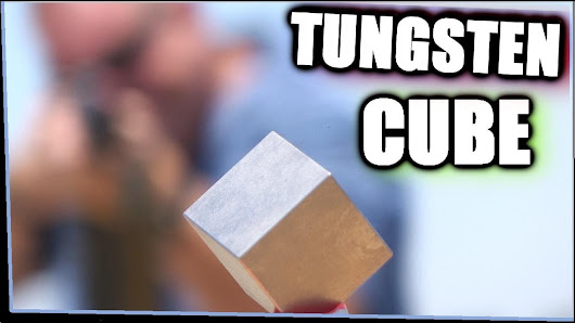 Is Tungsten bulletproof? Check out this fun video from Taofledermaus using a...