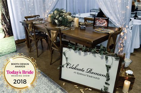 August 26th Bridal Show Booth Design Awards   Today's