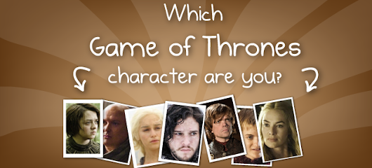 Quiz: Which Game of Thrones character would you be? Quiz - The Oatmeal