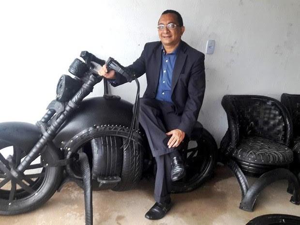 Promotor Francisco de Jesus Lima se diz admirador e incentivador do trabalho de Valter (Foto: Arquivo Pessoal/ Francisco de Jesus Lima)