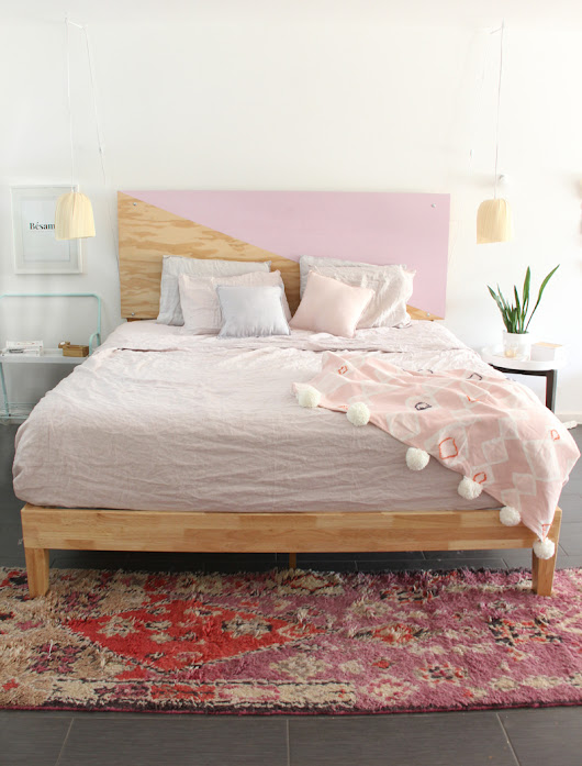 HOME- Master Bedroom Refresh Part One- Home is the Key - A Bubbly Life