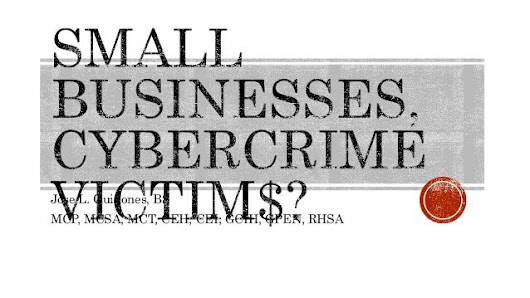 CyberCrime attacks on Small Businesses