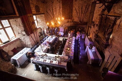 Chillingham Castle wedding photographer northumberland