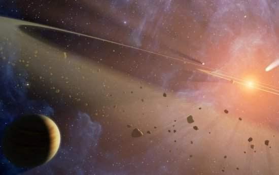 Água em poeira cósmica sugere que vida é universal
