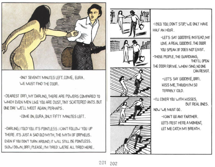 Fig. 1. Dino Buzzati, Poem Strip, pp. 201-202.