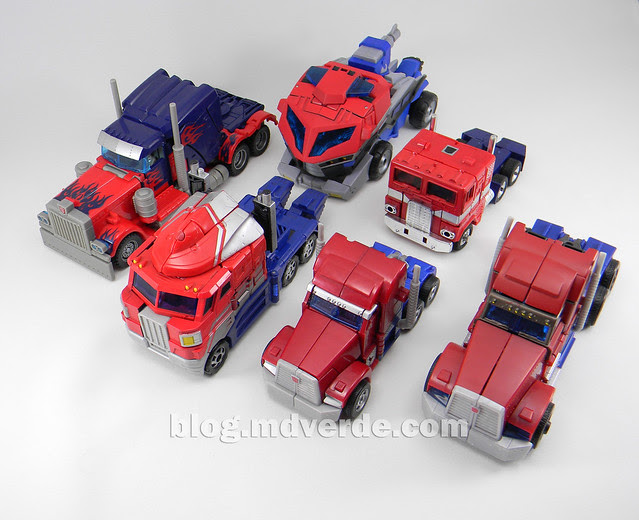 Transformers Optimus Prime Voyager - Prime First Edition - modo alterno vs otros Optimus