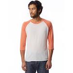Alternative AA2089 Men Baseball T-Shirt - Eco True Orange