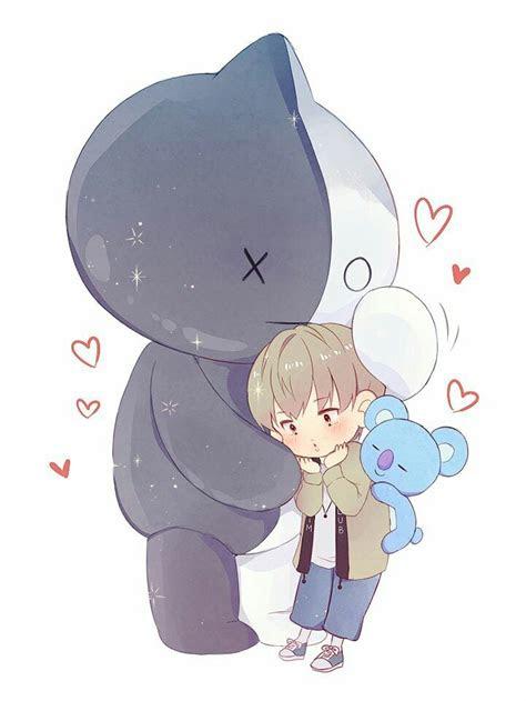 namjoon fanart   bts chibi bts drawings kpop