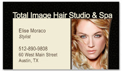 BCS-1120 - salon business card