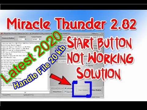 miracle box2.82 download button not working Fix 2020 trek by softichic