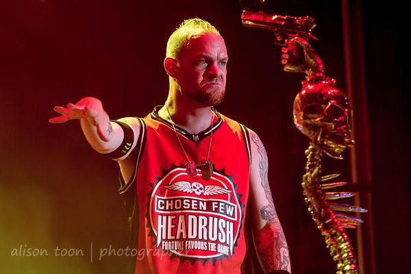 Ivan Moody, Five Finger Death Punch, Aftershock 2013