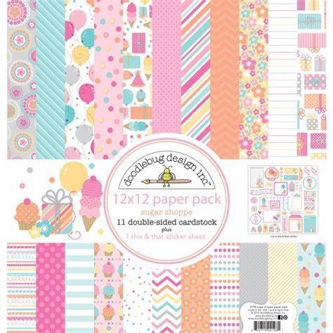 Doodlebug Design Sugar Shoppe 12 x 12 Paper Pack