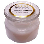 Cocoa Butter Foot Cream with Castor Oil for Dry Cracked Feet | Aniise