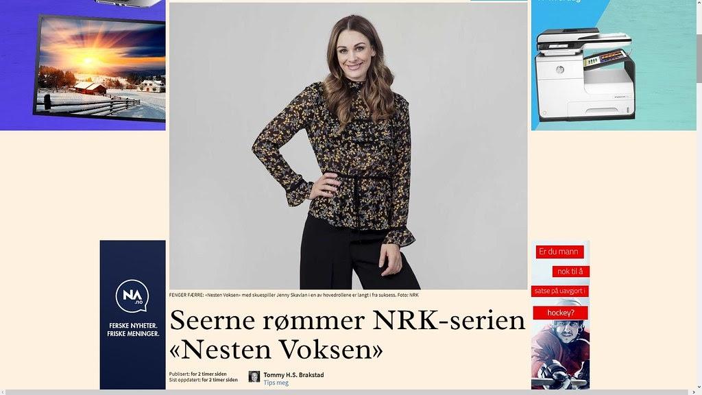 f85292fc johncons: Dette programmet så jeg litt av på Kiel-ferja, (var det vel). Jenny  Skavlan hadde naken-dag, (foran noen unger/ungdommer).