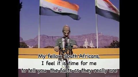 I Never Met A Nice South African Lyrics