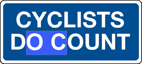 CYCLISTS DO COUNT