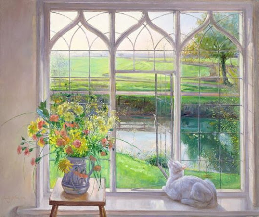 Timothy Easton Cat Paintings: Affordable Art for Cat Lovers - The Conscious Cat