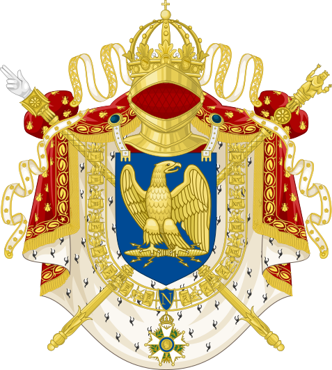 Archivo: Escudo de armas de Francia Imperial (1804-1815) svg.