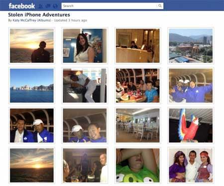 بعض الصور الخاصة باللص التي تم نشرها !