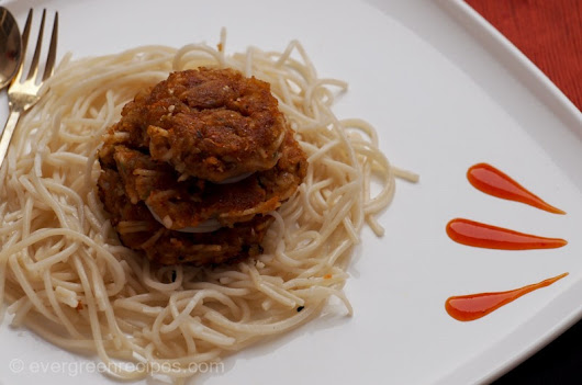 Noodles Cutlet Recipe | Veg Noodles Cutlet