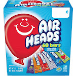 Airheads Candy - 60 pack, 0.55 oz bars